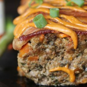 Bacon and Chorizo Meatloaf