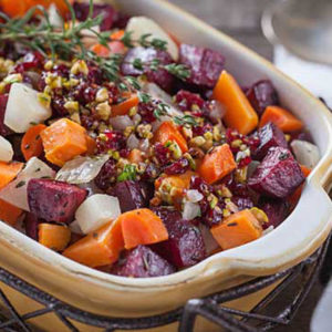 Herb Roasted Root Veggies